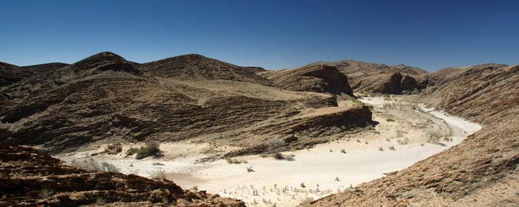 Le Canyon de la Kuiseb, en route vers Swakopmund