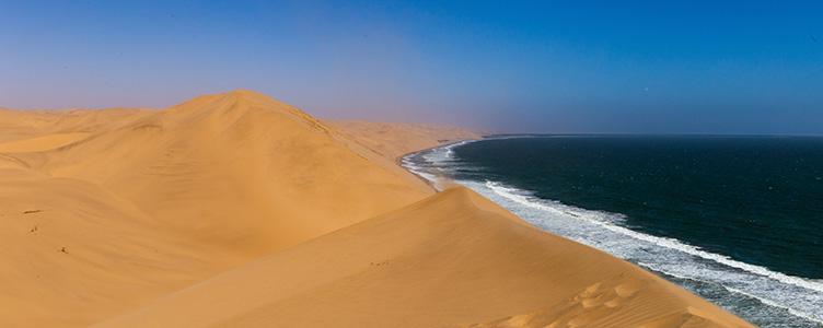 Dunes vers Sandwich Harbour avec Samsara