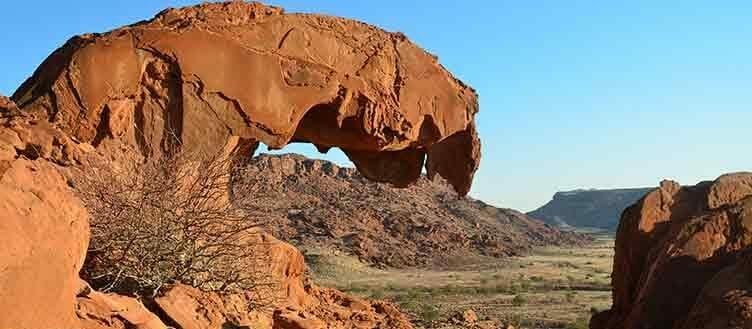 Twyfelfontein en Namibie