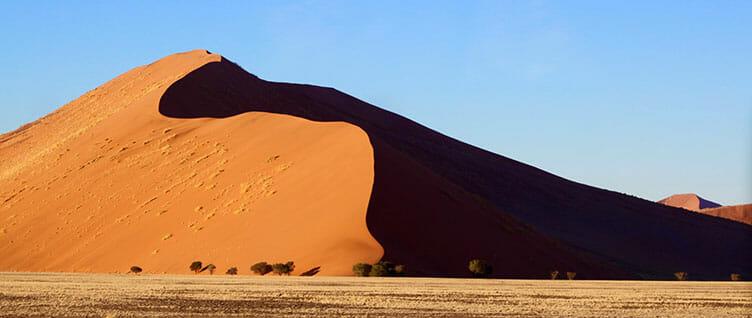 Dunes de Sossuvlei en Namibie