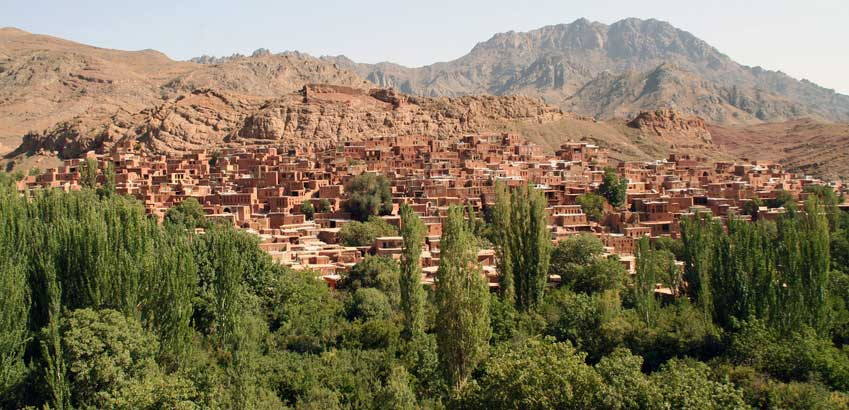 Abyaneh en Iran voyage amsara