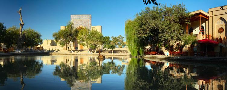 Voyage à Boukhara en Ouzbekistan