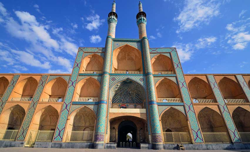 Mosquée à Ispahan Samsara Voyages