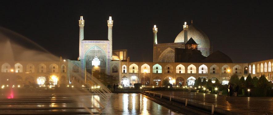 La place Imam à Ispahan en Iran