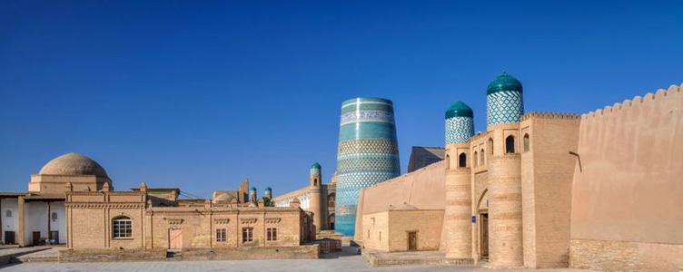 Remparts de Khiva en Ouzbekistan