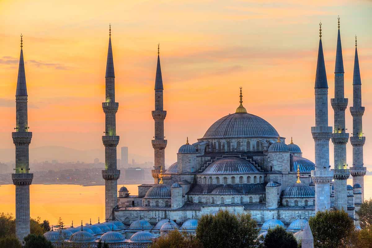 La mosquée bleue à Istanbul en Turquie