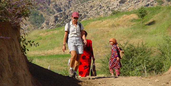 Randonnée en Ouzbekistan, Pangat