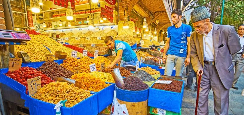 Marché de Teheran Samsara Voyages