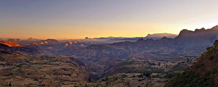 Dans le Simien en voyage en Ethiopie