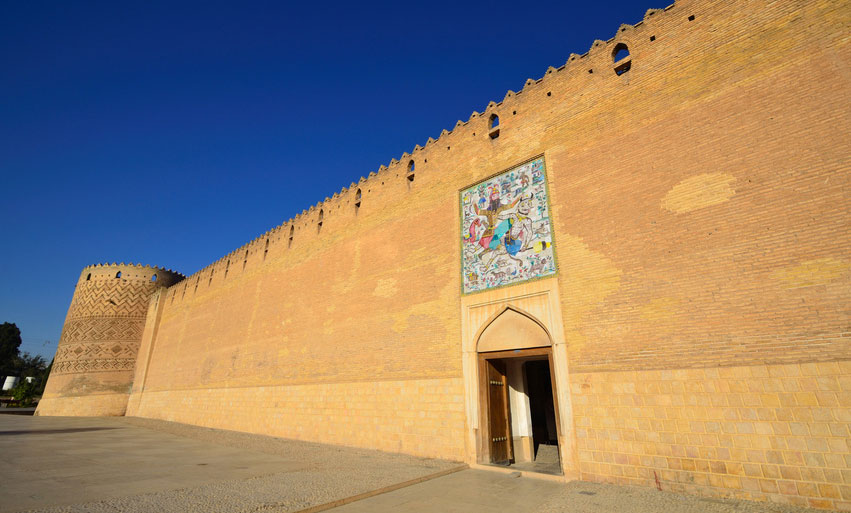 Murs de Shiraz, en Iran avec Samsara Voyage