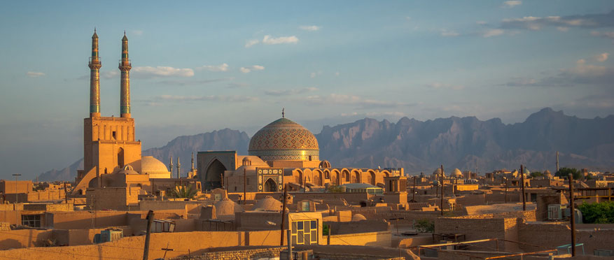 Vue sur Yazd