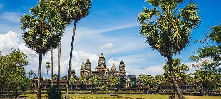 Vue sur Angkor