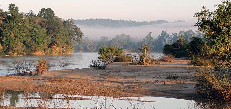 Riviere dans le Rattanakiri