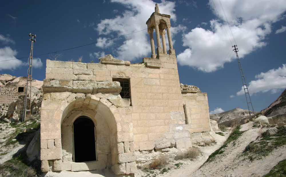 Ruine en Cappadoce avec Samsara