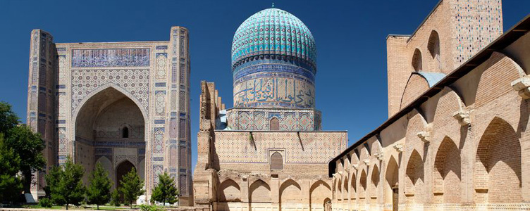 Mosquée à Samarcande en Ouzbekistan