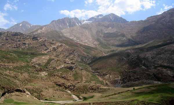 La vallee de Kuhrang dans les Monts Zagros, Iran