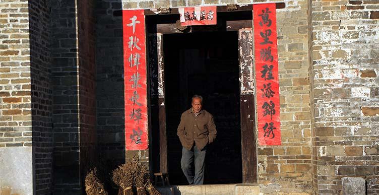 Dans la région de Yangshuo
