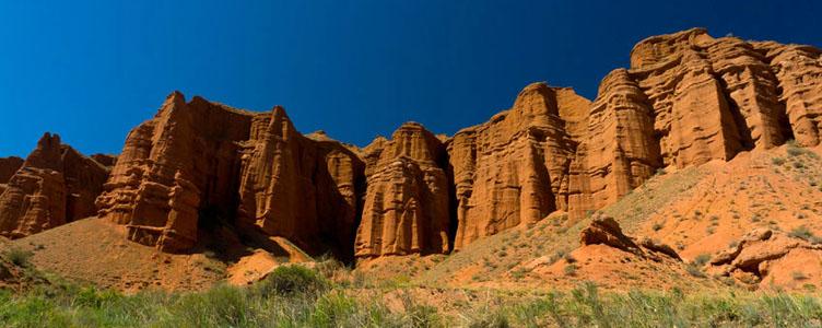 Voyage aventure Kirghizie boom canyon Samsara