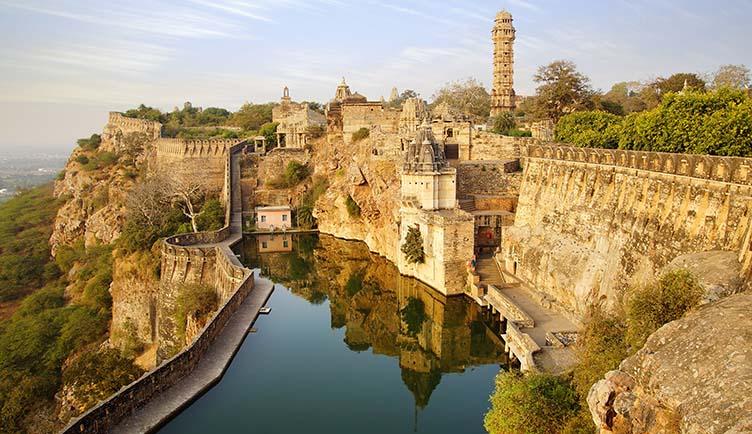 La Citadelle de Chittorgarh au Rajasthan