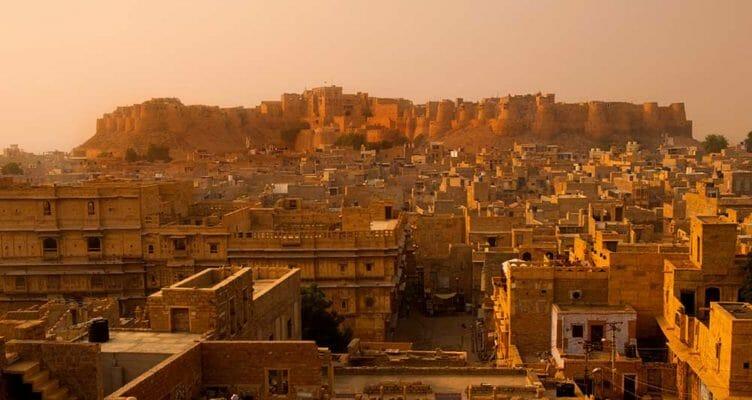 le Fort Jaisalmer au Rajasthan avec Samsara