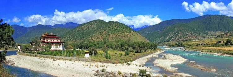 Punakha au Bhoutan