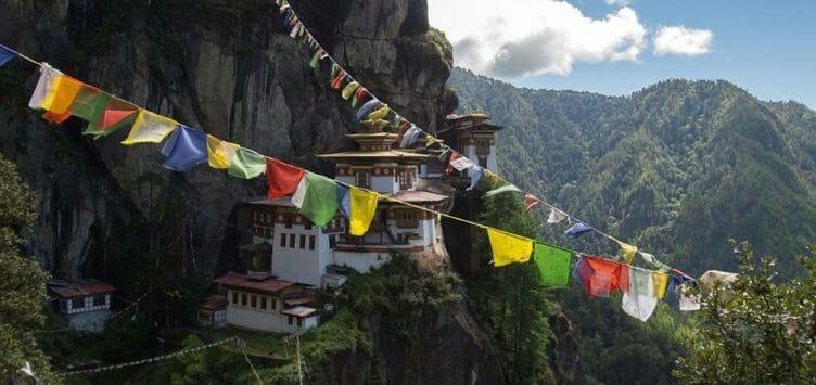 Taktshang au Bhoutan