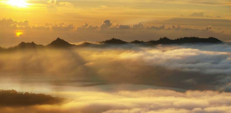 Lever de soleil sur le Mont Batur, Samsara Voyages