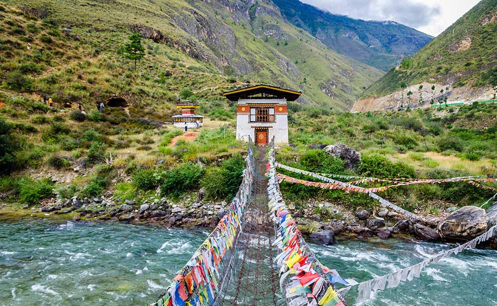 Climat Bhoutan avec Samsara Voyages