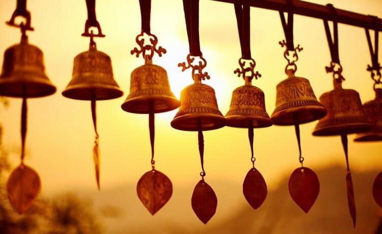 Cloches traditionnelles népalaises