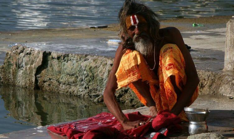Un Sadhu à Udaïpur