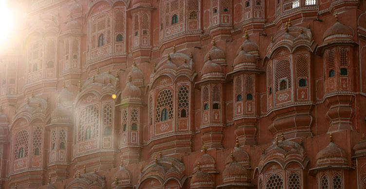 Le palais des vents à Jaïpur au Rajasthan