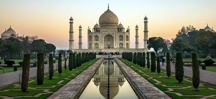 Le Taj Mahal à Agra au Rajasthan