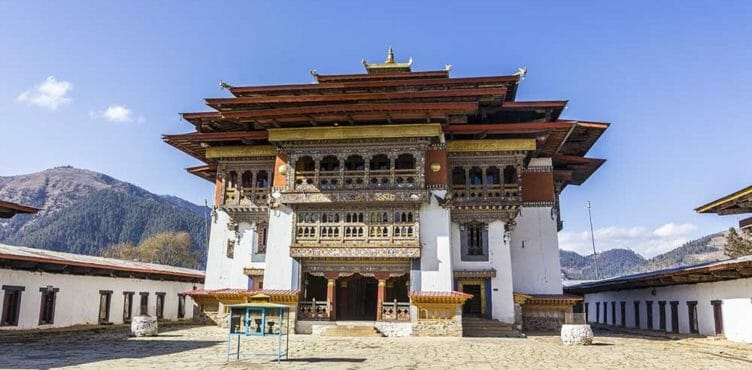 Vallée de Gangtey en voyage au Bhoutan