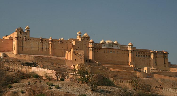 Fort Amber au Rajasthan, Inde