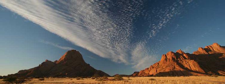 Paysage de Spitzkoppe en Namibie avec Samsara Voyages