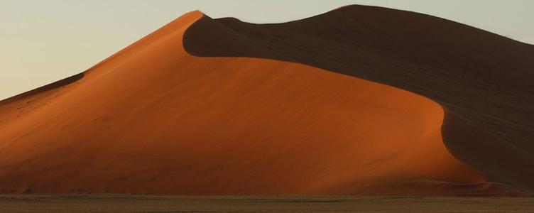 Dunes de Sossusvleï en Namibie