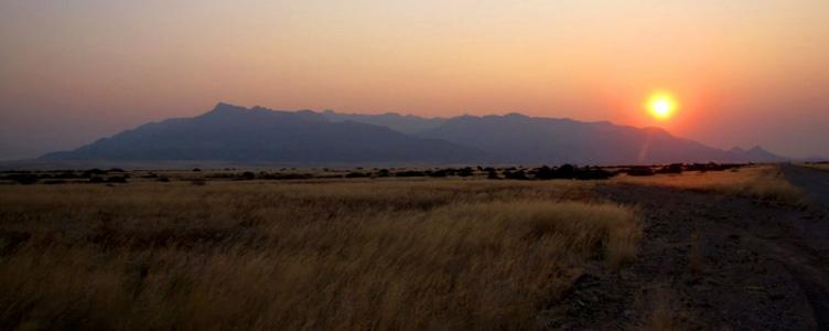 Le massif du Brandeberg en Namibie