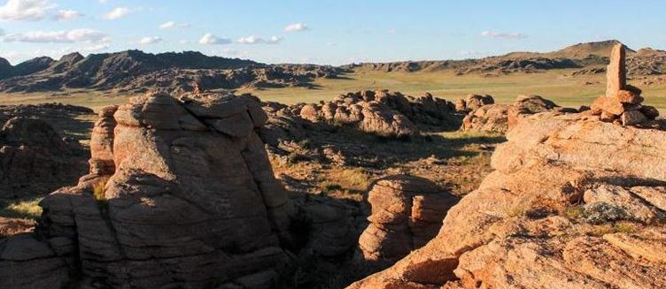 Baga Gazriin Chuluu en Mongolie