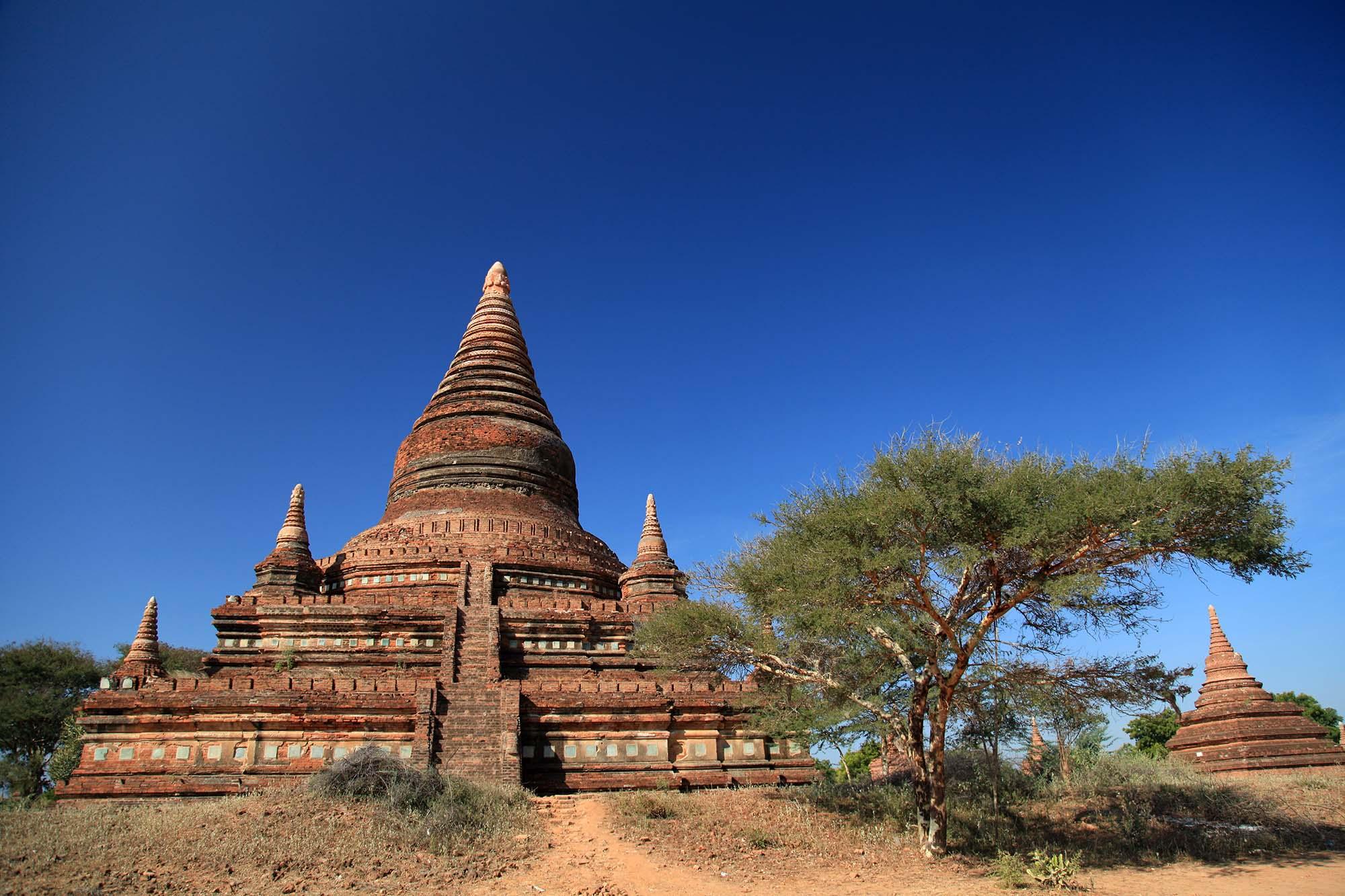 Visite de la plaine de Bagan en Birmanie avec Samsara Voyages