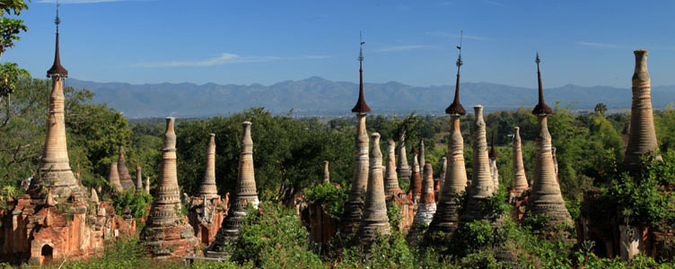Site Pao de Indein, Birmanie