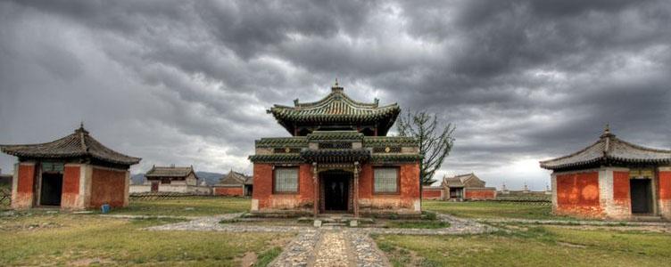 Temples Erdene Zuu en Mongolie