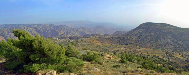 Parc de Dana en Jordanie