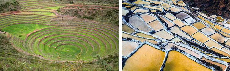 Terrasses de Moray au Pérou Samsara