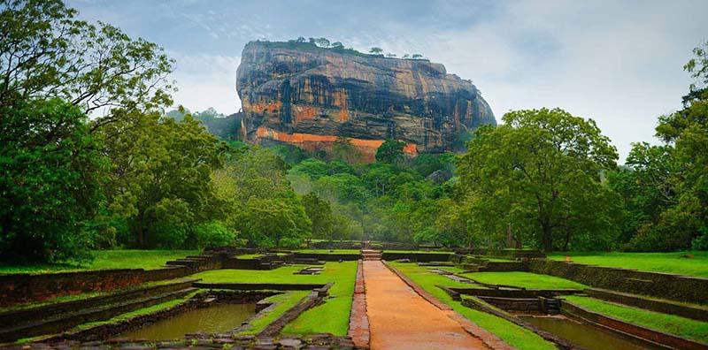 Rocher de Sigiriya au Sri Lanka