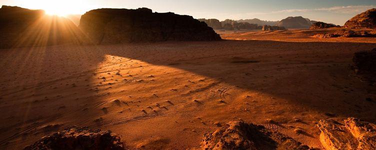 Paysage du Wadi Rum