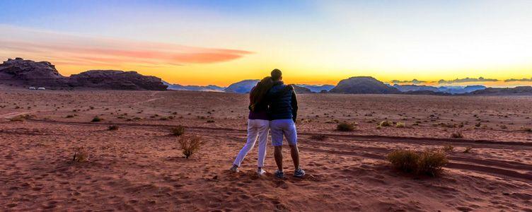Le Wadi Rum en Jordanie
