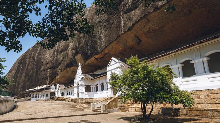 Dambulla au Sri Lanka