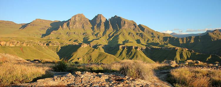 Drakenseberg en Afrique du Sud