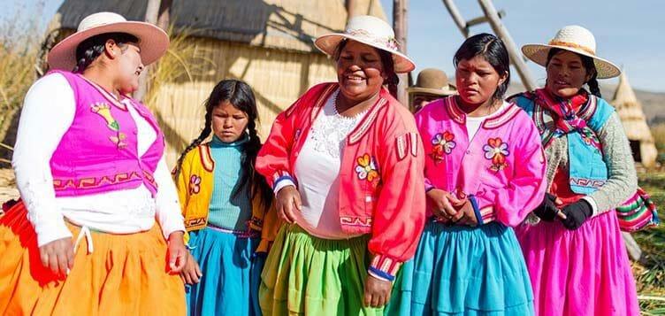 Chez l'habitant au lac Titicaca