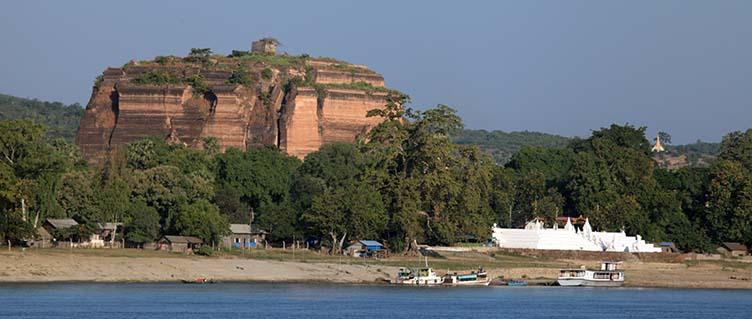 Mingun en Birmanie Myanmar